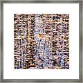 Fall Reflections #1277-4030 Framed Print