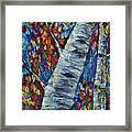 Falll In Rockies - Left Panel Framed Print