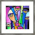Family Time Framed Print by Tom Fedro - Fidostudio