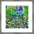 Fantasy Fountain Framed Print