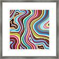 Fantasy Swirl Framed Print