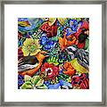 Feathered Foliage Framed Print