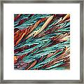 Feathers Of Crystal 2 Framed Print