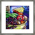 February Still Life In Angelinas Kitchen 1 Framed Print