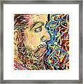 Fifteen Minute Beard Framed Print