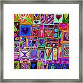 Find U'r Love Found 2 Framed Print