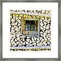 Firewood Framed Print by Frank Tschakert