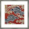 Fish Dreamin Framed Print