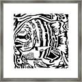 Fish Maze Framed Print