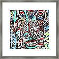 Fish Story Framed Print by Robert Wolverton Jr
