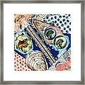 Fishing Over The Object Framed Print
