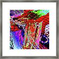 Fishnet Fantasy, A Collage Between Maine And Florida. Framed Print