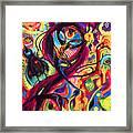 Raven Masquerade Framed Print