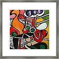 Five O' Clock With Picasso Framed Print