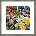 Fleurs De Lys 02 Framed Print