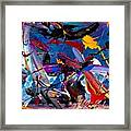 Flight Of A Huming Bird Framed Print