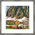 Floe Lake Framed Print