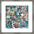 Floral Abstract Still Life Framed Print