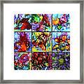 Floral Air Framed Print