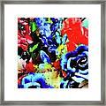 Floral Celebration Framed Print