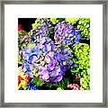 Floral Fantasy Framed Print