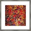 Floral Feelings Framed Print
