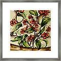 Floral Wisp Framed Print