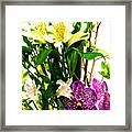 Flower Arrangement 1 Framed Print