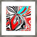 Flower Burst Of Color Framed Print