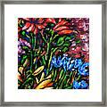 Flower Culture 213 Framed Print