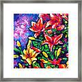 Flower Culture 297 Framed Print