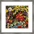 Flower Extravaganza Framed Print