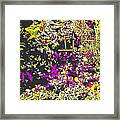 Flower Flood Framed Print
