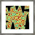 Flower From Mt Ord Abstract Framed Print