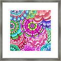Flower Magic Framed Print