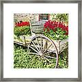 Flower Wagon Framed Print