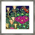 Flowers For The New Year Framed Print