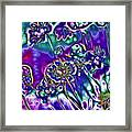 Flowers Of The Distant Planet Framed Print