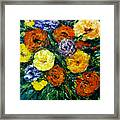 Flowers Painting #191 Framed Print