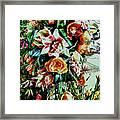Flowing Bouquet Framed Print