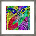 Fontart Series  Cosmic Attraction Framed Print