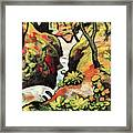 Forest Brook By August Macke Framed Print