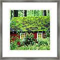 Forest Chapel Framed Print