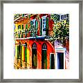 French Quarter Sunshine Framed Print