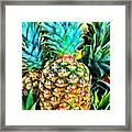 Fresh Pineapple Framed Print