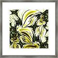Frost Damage Framed Print