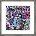 Funk Soul Brother Framed Print