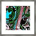 Funky Pop-12 Framed Print