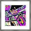 Funky Pop-7 Framed Print