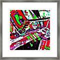 Funky Pop-9 Framed Print
